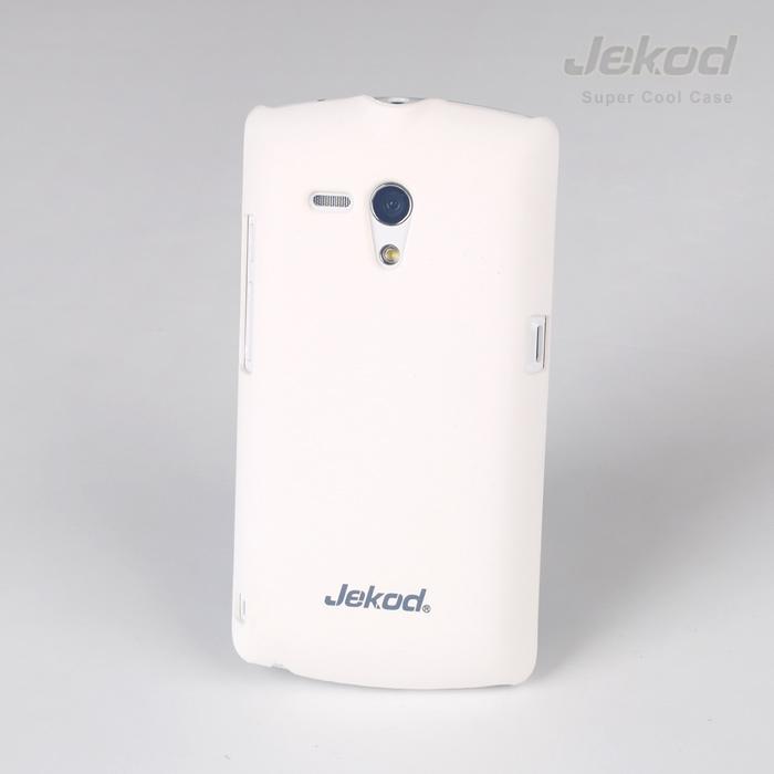 Ochranné pouzdro JEKOD Super Cool pro Sony Xperia Neo L MT25i bílé