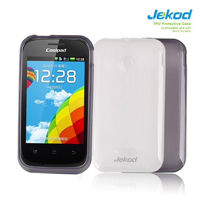 Ochranné silikonové pouzdro JEKOD TPU pro Huawei Y210 černé