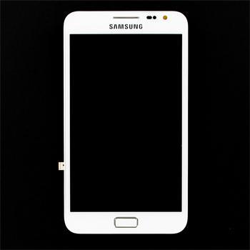 LCD Displej + Dotyková Deska (plocha) pro Samsung Note N7000 White