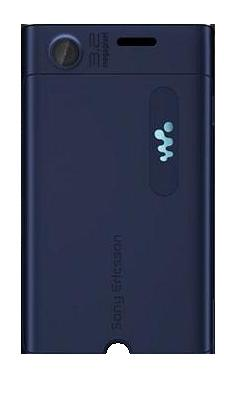 Kryt baterie pro Sony Ericsson W595, blue - VÝPRODEJ!!