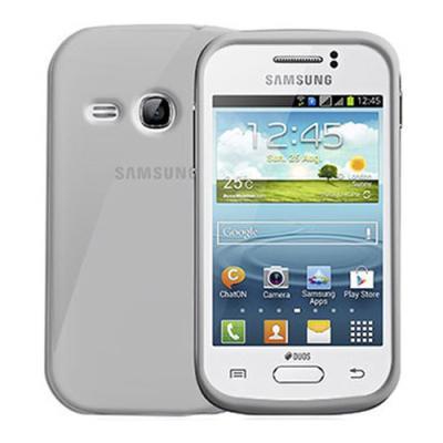 Ochranné silikonové pouzdro CELLY Gelskin pro Samsung S6310 Galaxy Young průhledné