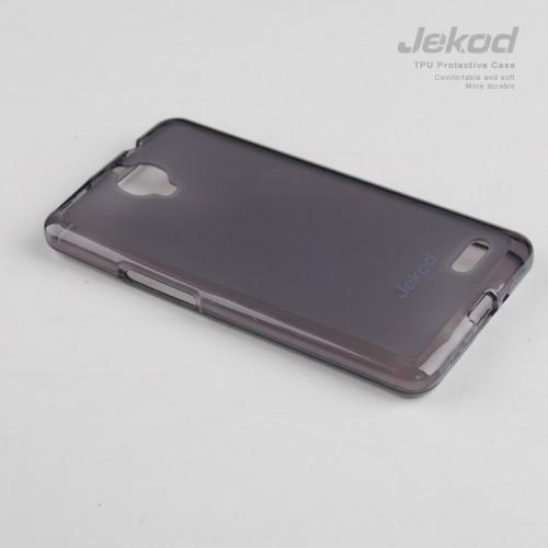 Ochranné silikonové pouzdro JEKOD TPU pro Alcatel One Touch Idol Ultra OT6033 černé