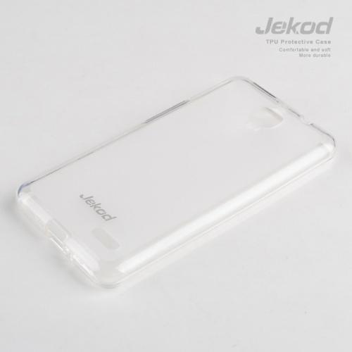 Ochranné silikonové pouzdro JEKOD TPU pro Alcatel One Touch Idol Ultra OT6033 bílé