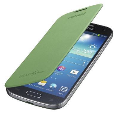 Originální pouzdro Samsung EF-FI919BG Galaxy S4 mini (i9195) Green