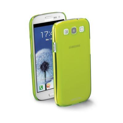 Pouzdro CellularLine Cool Fluo + folie pro Samsung Galaxy S3 i9300 zelené 4970cc9770e