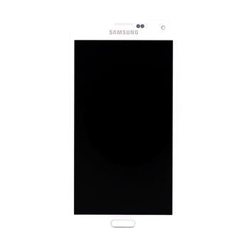 LCD display + dotyková deska pro Samsung G900 Galaxy S5 White
