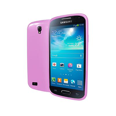 Silikonové pouzdro CELLY Gelskin Samsung i9195 Galaxy S4 mini růžové