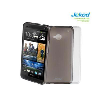 Silikonové pouzdro JEKOD TPU HTC ONE mini / M4 bílé