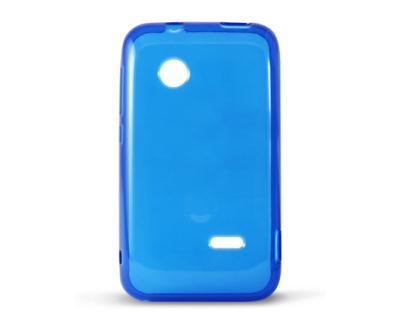 Silikonové pouzdro K6 FLEX TPU Sony Xperia Tipo ST21i čiré-modré ... 524eb52bb07