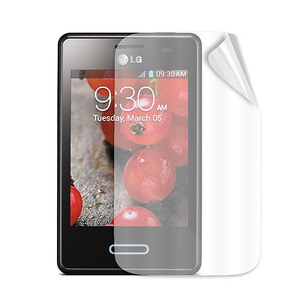 Ochranná folie displeje CELLY Screen Protector pro LG Optimus L7 II, lesklá, 2 ks v balení