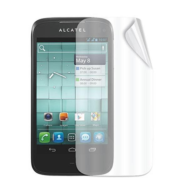 Ochranná folie displeje CELLY Screen Protector pro Alcatel One Touch Ultra, lesklá, 2ks