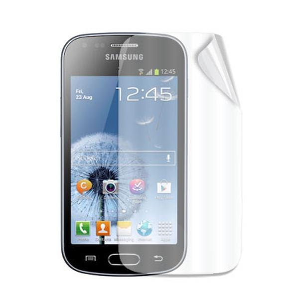 Ochranná folie displeje CELLY Screen Protector pro Samsung Galaxy Trend, lesklá, 2ks
