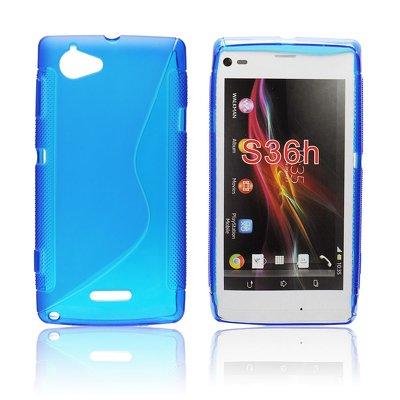 Silikonové pouzdro ForCell Zadní Kryt Lux S Blue pro Sony C2105 ... 5c081225857