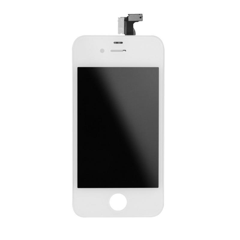 LCD displej + dotyková deska pro iPhone 4G, white
