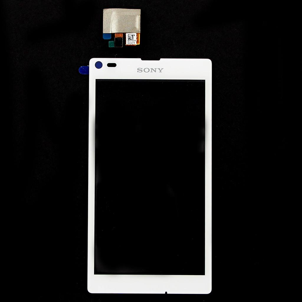 Dotykové sklo, deska Sony Xperia L (C2105) White originální díl