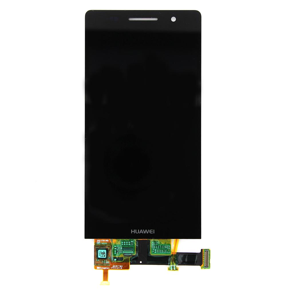 LCD Displej + Dotyková deska Black pro Huawei Ascend P6 - originál