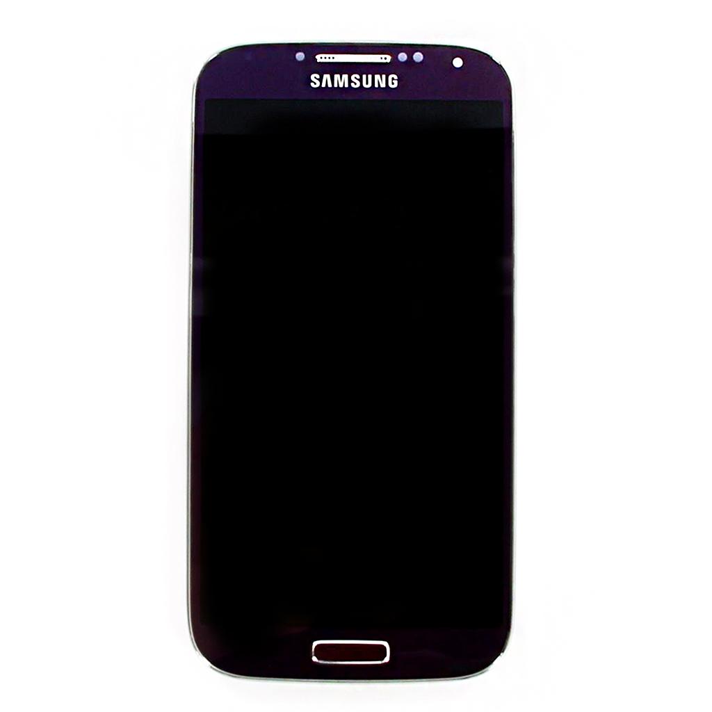 LCD displej + dotyková plocha + přední kryt Purple i9505 Galaxy S4 - originál