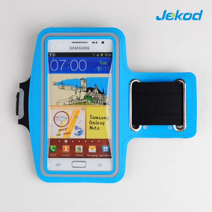 """Pouzdro na ruku JEKOD Light Blue pro SmartPhone 4"""" - 5"""""""