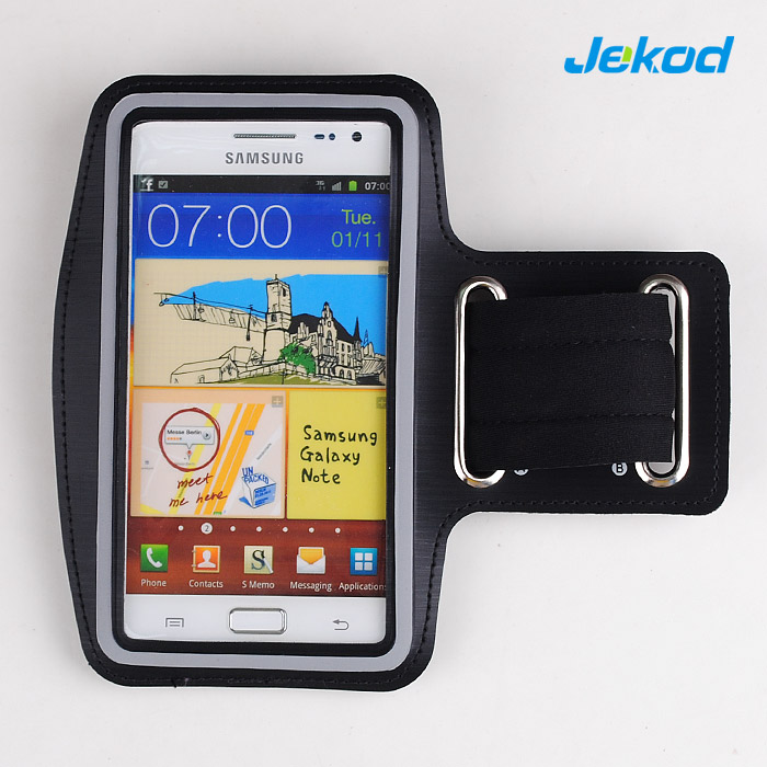 "Pouzdro na ruku JEKOD Black pro SmartPhone 5"" - 5.8"""
