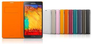 Vyklápěcí FLIP pouzdro Samsung Galaxy Note 3 N9005 EF-WN900BO Wild Orange (EU Blister)