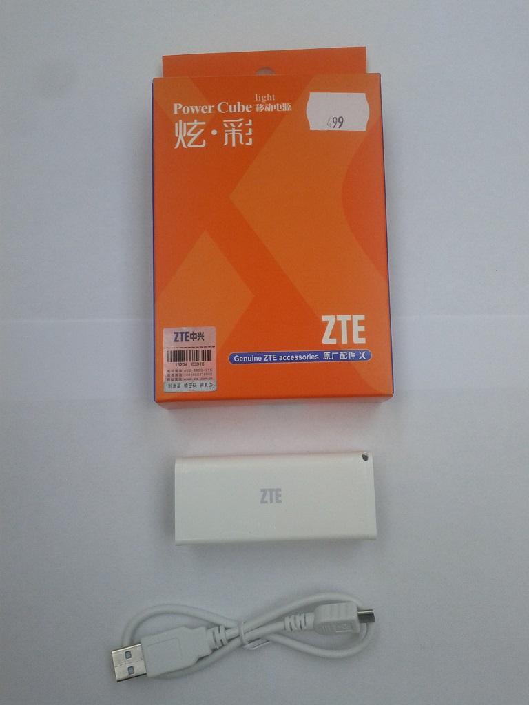 Externí dobíjecí baterie ZTE Power Cube P21 2200 mAh (EU Blister)