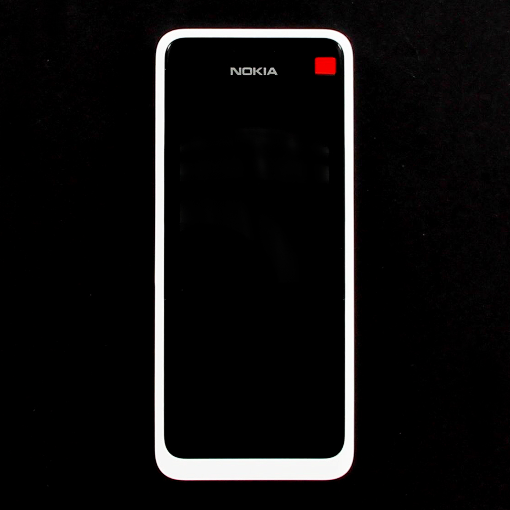 Přední kryt pro Nokia 301 DS, white - VÝPRODEJ!!