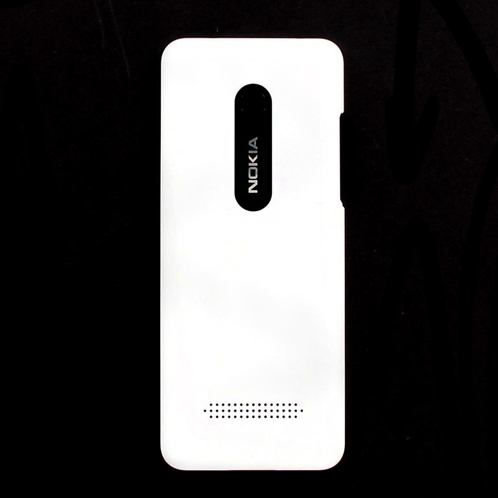 Zadní kryt baterie Nokia 206 DUAL SIM White