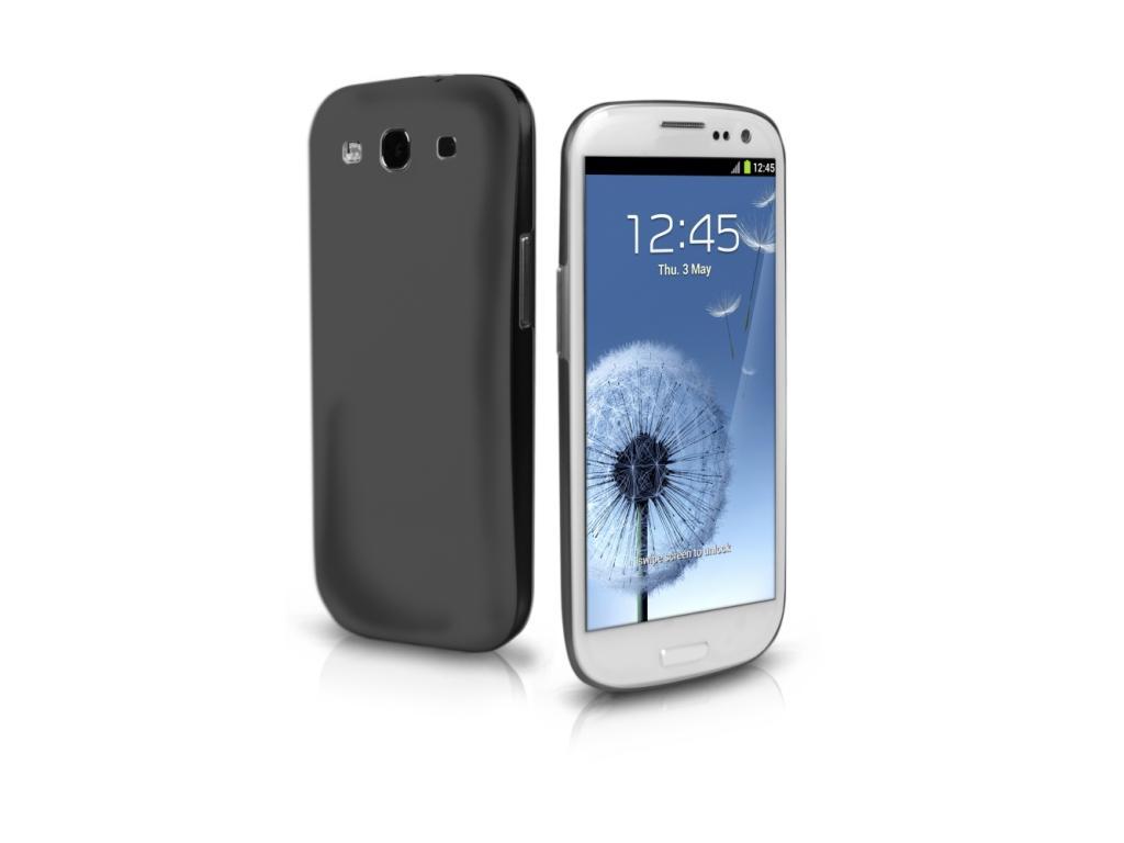 Pouzdro SBS Ultrathin Zadní Kryt Black pro Samsung i9300 Galaxy S3 (EU Blister)