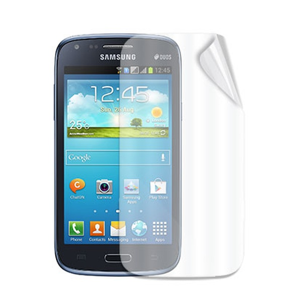 Ochranná folie displeje CELLY Screen Protector pro Samsung Galaxy Core (DUOS), lesklá, 2ks