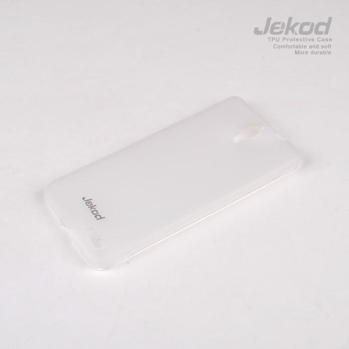 Silikonové pouzdro Alcatel 6040D Idol X JEKOD TPU bílé