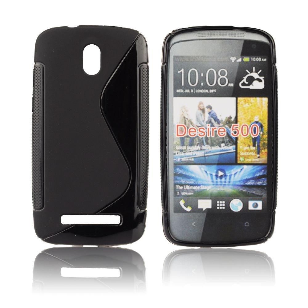 Ultra Slim S Case pro HTC Desire 500, black- VÝPRODEJ!!