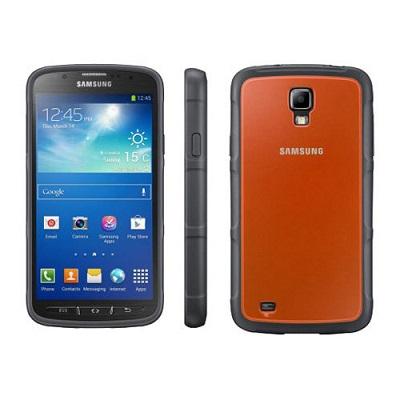 Pouzdro Samsung ochranný kryt EF-PI929BOE pro Galaxy S IV Active (i9295) Orange