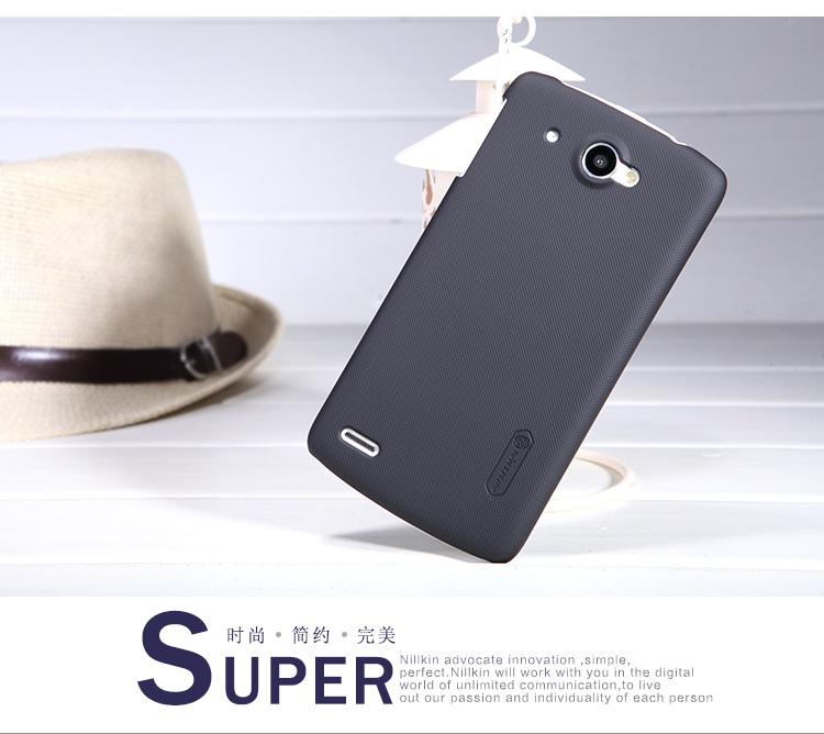 Nillkin Super Frosted Zadní Kryt Black pro Lenovo S920