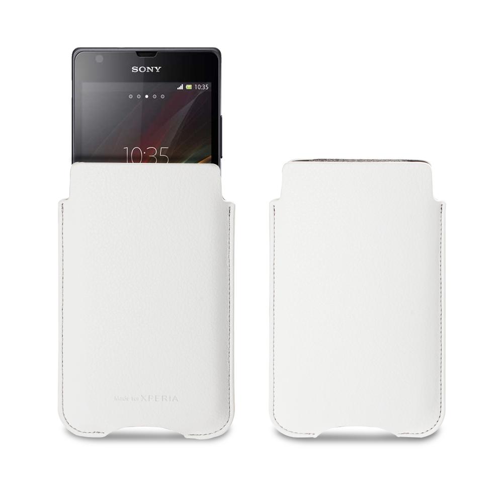 Originální pouzdro Sony SMA3131W White pro Sony Xperia SP C5303 (EU Blister)