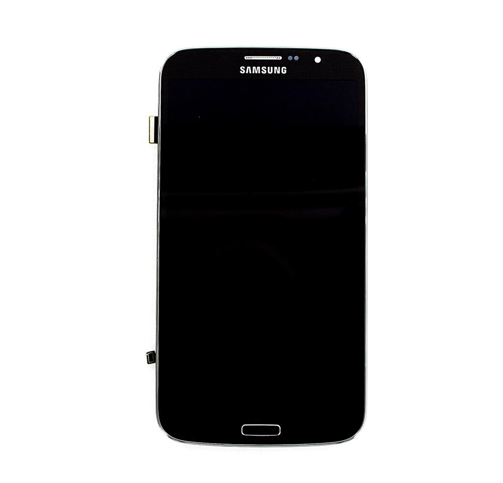 LCD Display + Dotyková Deska + Přední Kryt Black pro Samsung i9200 Galaxy Mega 6.3 - originál