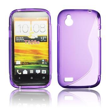 ForCell Lux S Pouzdro HTC Desire X fialové