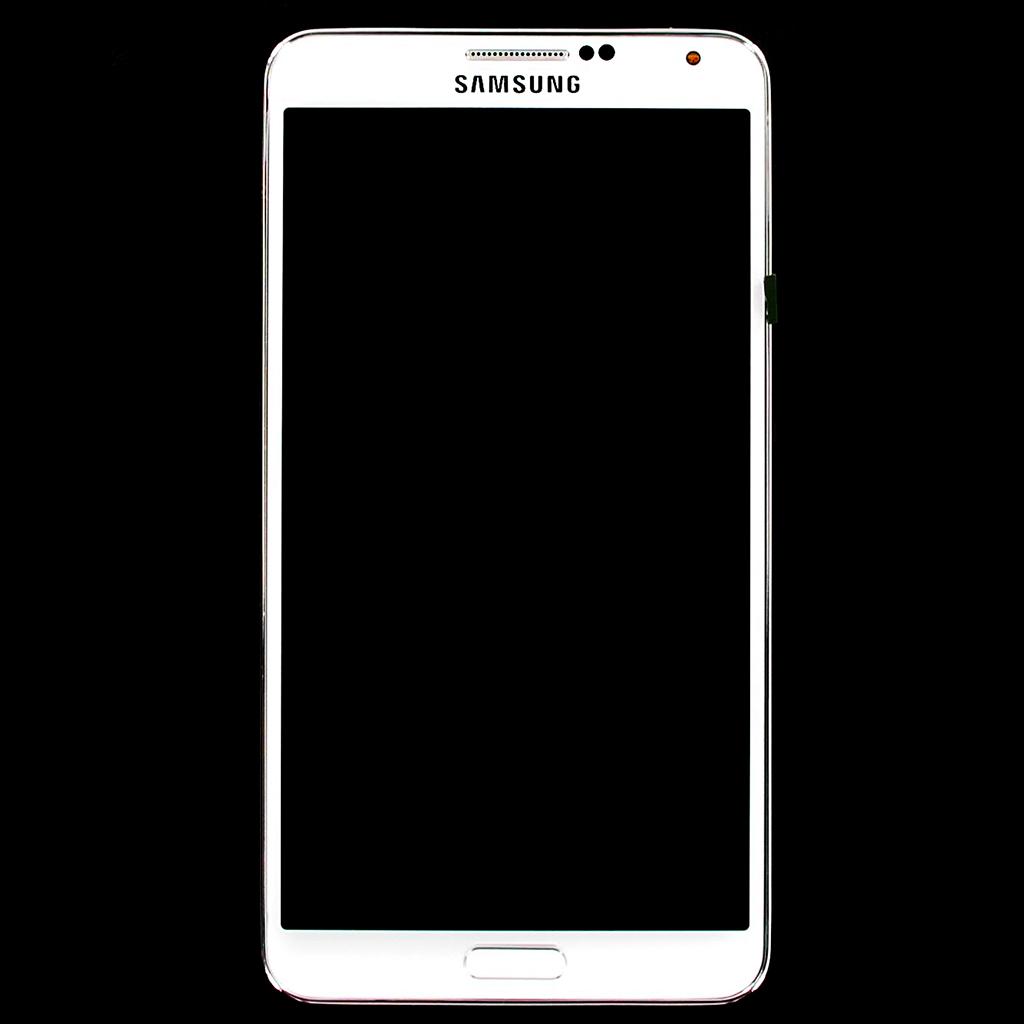 LCD Display + Dotyková Deska + Přední Kryt White pro Samsung N9005 Galaxy Note3 - originál
