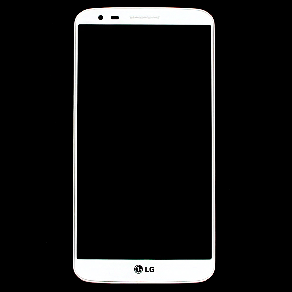 LCD Display + Dotyková Deska + Přední Kryt White pro LG Optimus G2 D802 - originál