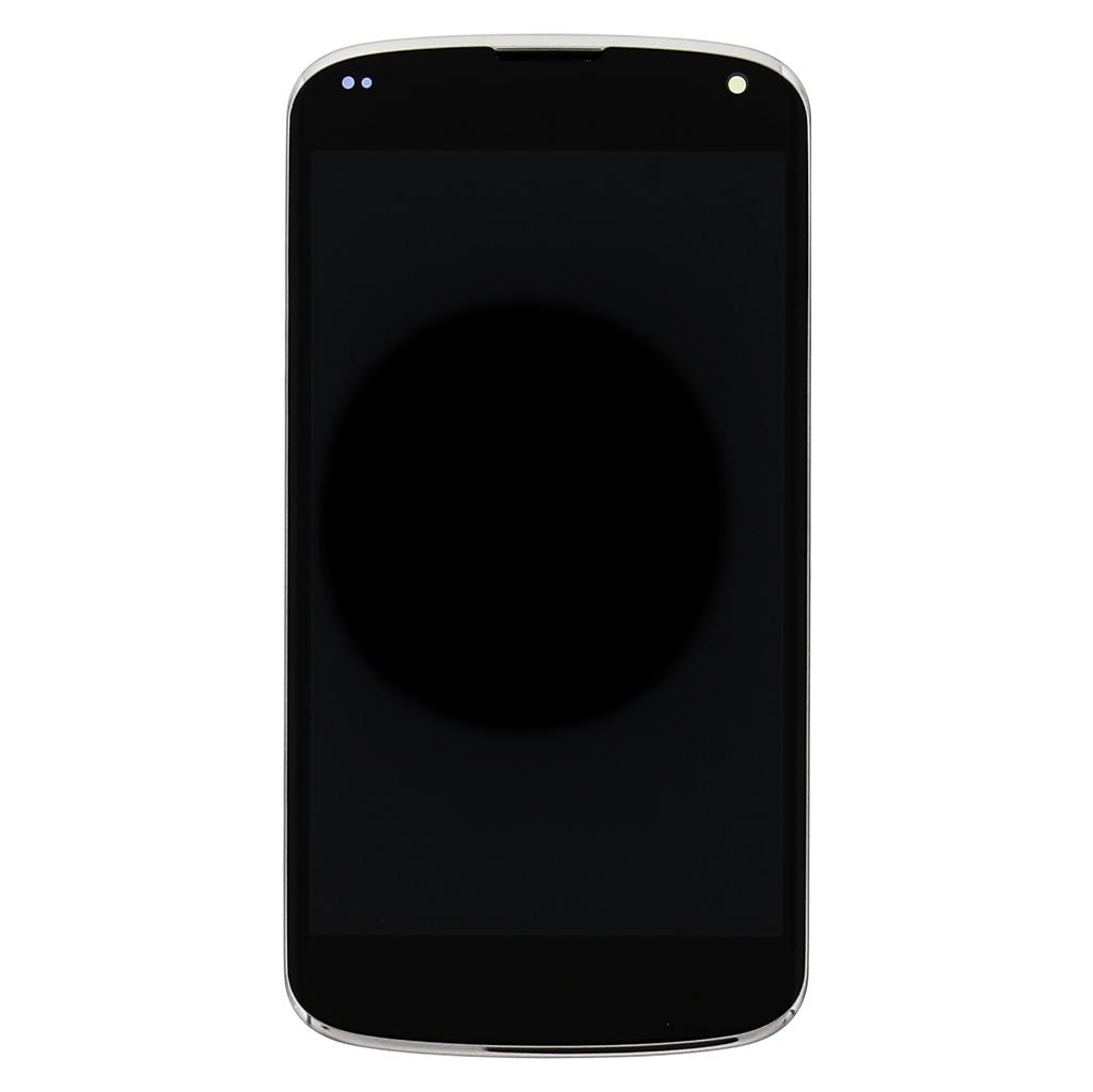 LCD Display + Dotyková Deska + Přední Kryt White pro LG Nexus 5 D821 - originál