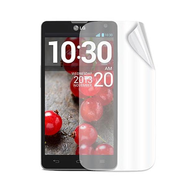 Ochranná folie displeje CELLY Screen Protector pro LG Optimus L9 II D605, 2ks, lesklá