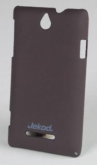 Ochranné pouzdro JEKOD Super Cool pro Sony C1505 Xperia E, Brown