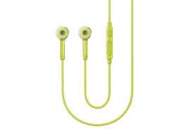 Stereo handsfree sluchátka Samsung HS3303 3,5mm jack, Green (EU Blister)