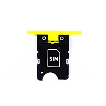 Držák SIM Karty pro Nokia Lumia 1020 Yellow