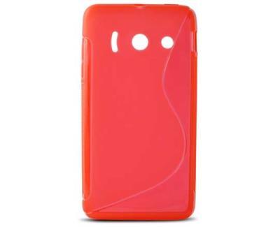 Silikonové pouzdro K6 FLEX TPU B0706FTP06 pro Huawei Y300 červené