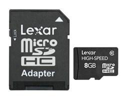 Lexar 8GB microSDHC s adaptérem (Class 10)