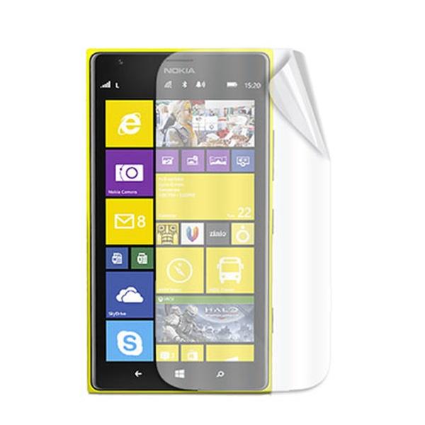 Ochranná fólie displeje CELLY Screen Protector pro Nokia Lumia 1520, 2ks, lesklá