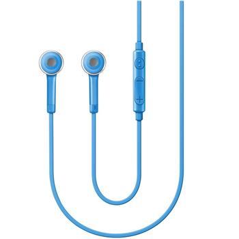 Stereo handsfree sluchátka Samsung HS3303 3,5mm jack, Blue (EU Blister)
