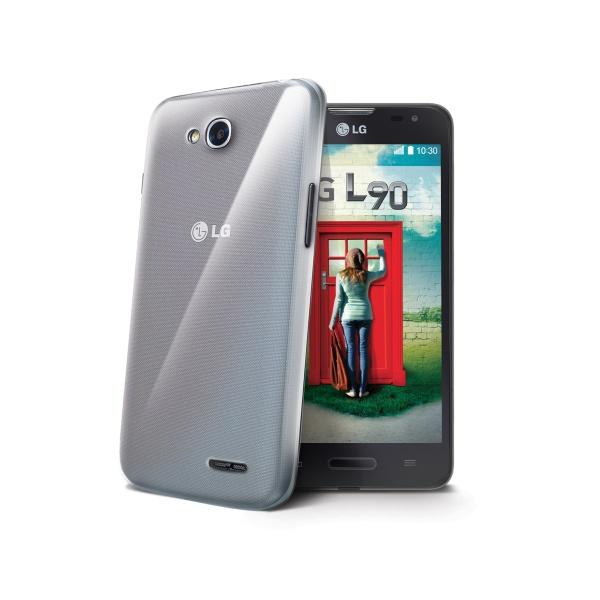 Silikonové TPU pouzdro CELLY Gelskin pro LG L90 (D405N), bezbarvé