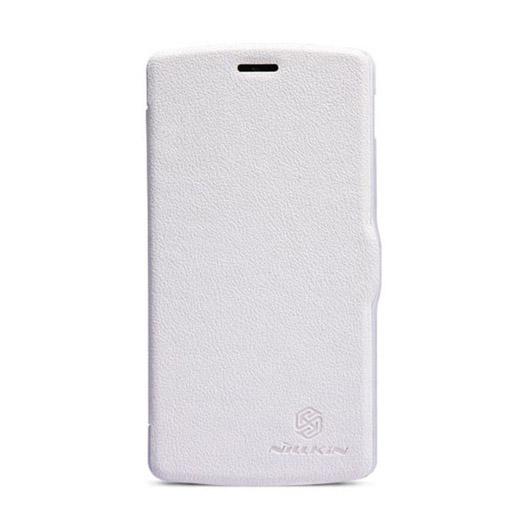 Vyklápěcí flipové pouzdro Nillkin Fresh Folio Pouzdro pro LG Nexus 5, bílé