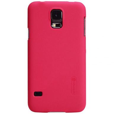 Pouzdro Nillkin Super Frosted pro Samsung G900 Galaxy S5, červené